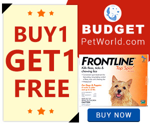 Frontline Top Spot is an effective flea and tick preventive for canines. his affordable treatment kills almost 100% fleas in 24 hours of application and takes 48 hours to eliminate 100% ticks from the dog's body.